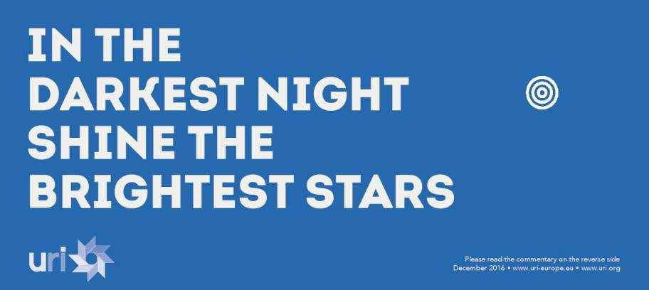 In the darkest night  shine the brightest stars