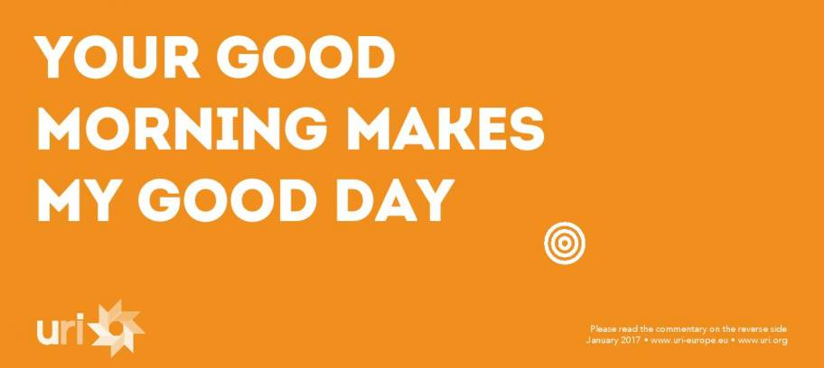 Your Good Morning makes my day